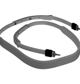 Strap - Silicon, White (TL)**
