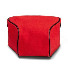 Pouch - Ettas, Coated Canvas / Red Q2