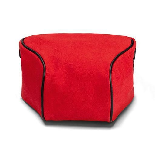 Pouch - Ettas, Coated Canvas / Red
