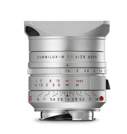 28mm / f1.4 ASPH Summilux Silver Anodized (M)