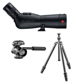 Spotting Scope Set: 65 Angled Televid, 25-50x Eyepiece, Gitzo Series 1 Tripod and Gitzo Two-Way Head**
