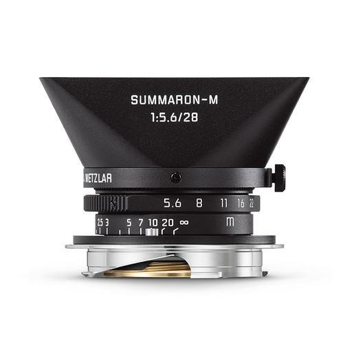 28mm f/5. Summaron Matte Black Paint