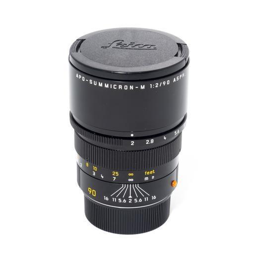 Used 90mm Summicron APO f/2.0 w/ Box and Caps - No Case