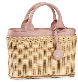 Basket - Wicker Pink