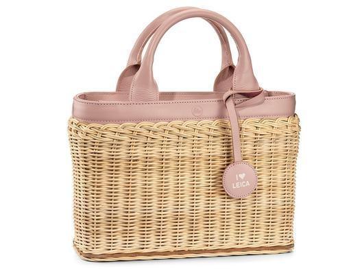 Basket - Wicker Pink