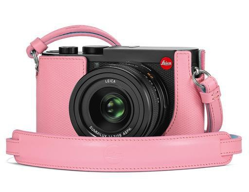 Leica Q2 Carrying Pink Strap