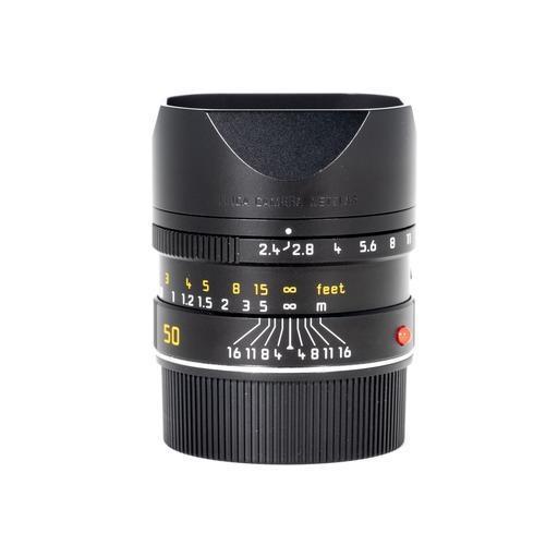 Used 50mm Summarit f/2.4 Black