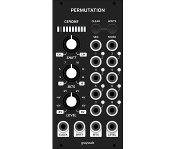 Grayscale Permutation 12hp (Black)