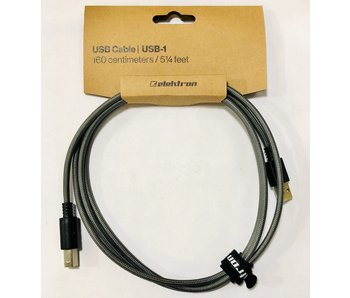 Elektron USB Cable, Type A to Type B, 5.25ft
