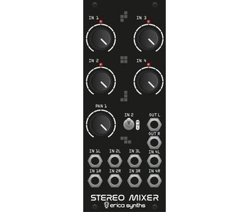 Erica Synths Stereo Mixer (Drum Series)
