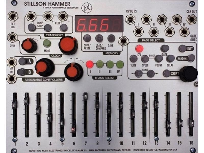 Industrial Music Electronics Stillson Hammer mkII, USED