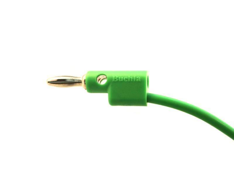"Buchla Banana Cable, 20"", Green"
