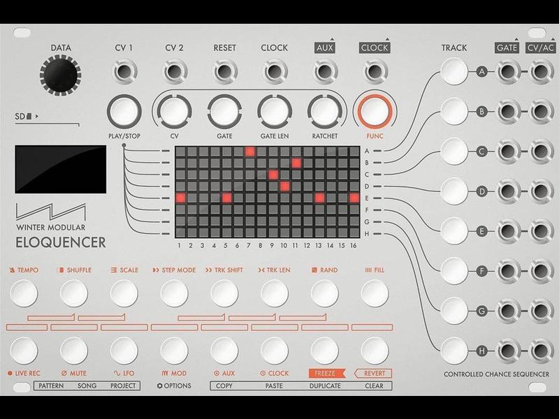Winter Modular Eloquencer, Silver