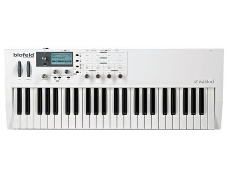 Waldorf Blofeld Keyboard (White), USED