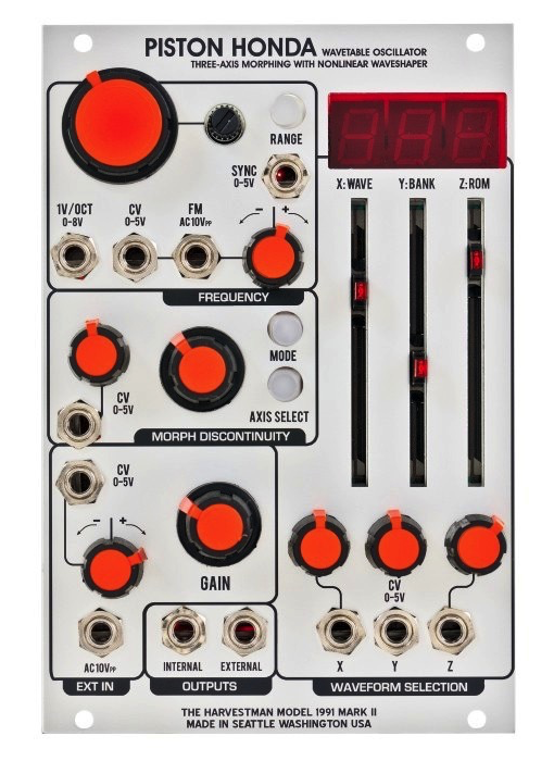 Industrial Music Electronics Piston Honda mkII, USED