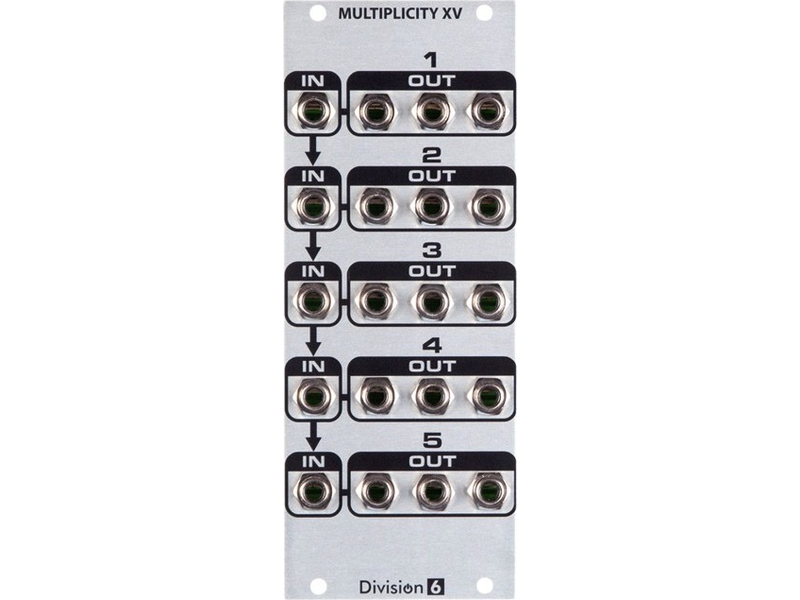 Division 6 Multiplicity XV, USED