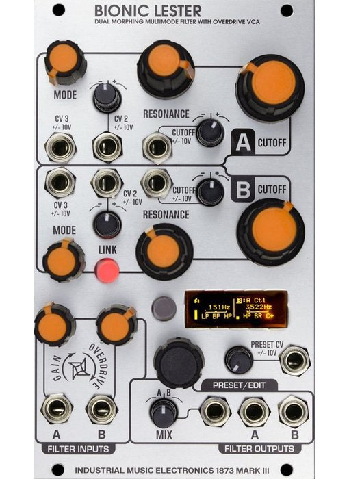 Industrial Music Electronics Bionic Lester mkIII, PRE-ORDER