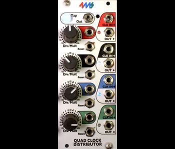 4ms QCD (Quad Clock Distributor), USED
