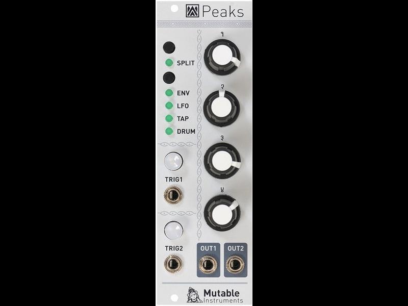 Mutable Instruments Peaks, USED