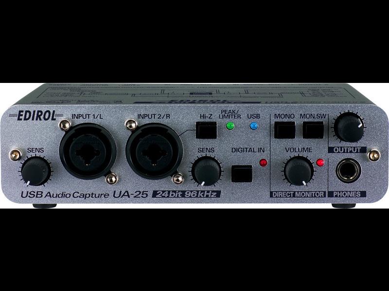Edirol UA-25, USED