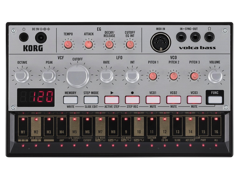 Korg Volca Bass, USED