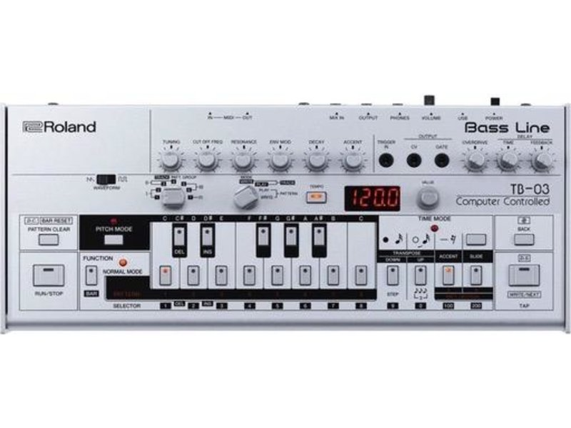 Roland TB-03 Bass Line, USED