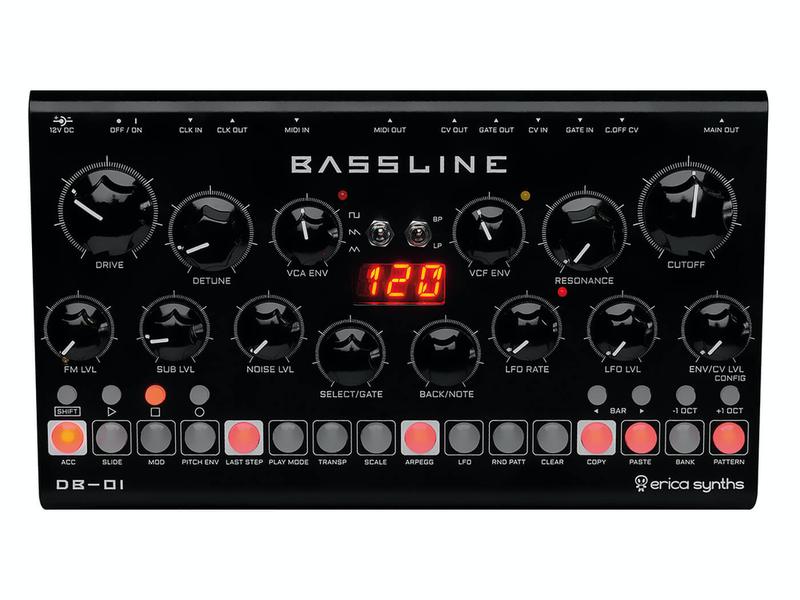 Erica Synths Desktop Bassline DB-01