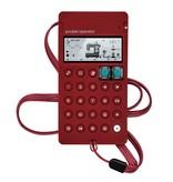 Teenage Engineering PO-12 Rhythm w/ Wine Red CA-X Case, USED