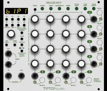 Tiptop Audio Trigger Riot, White