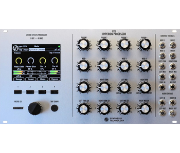 Synthesis Technology E520 Stereo Effects Processor, Silver
