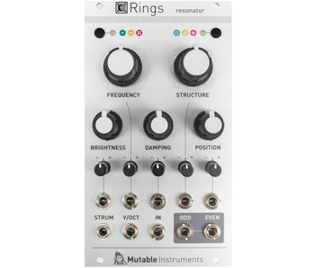 Mutable Instruments Rings, USED
