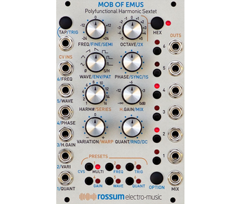 Rossum Electro-Music Mob of Emus, PRE-ORDER