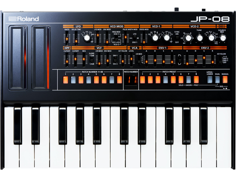 Roland JP-08 Jupiter w/ K-25M Keyboard, USED