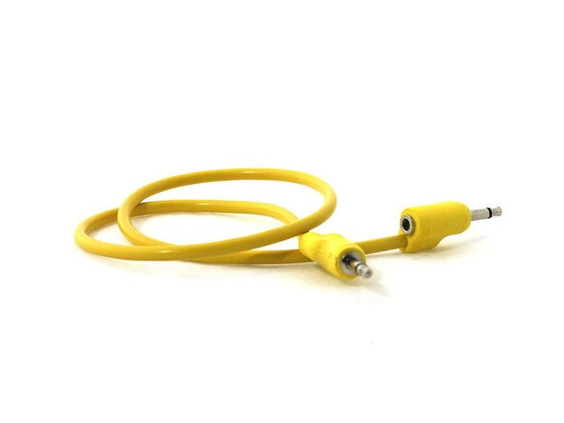 Tiptop Audio Stackcable Yellow 50cm/19.5in