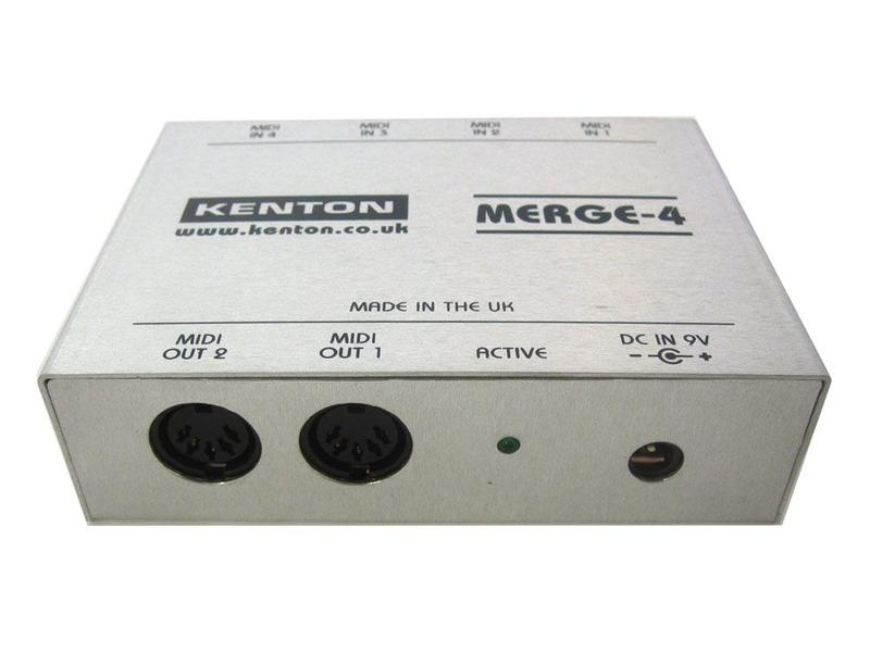 Kenton MIDI Merge-4