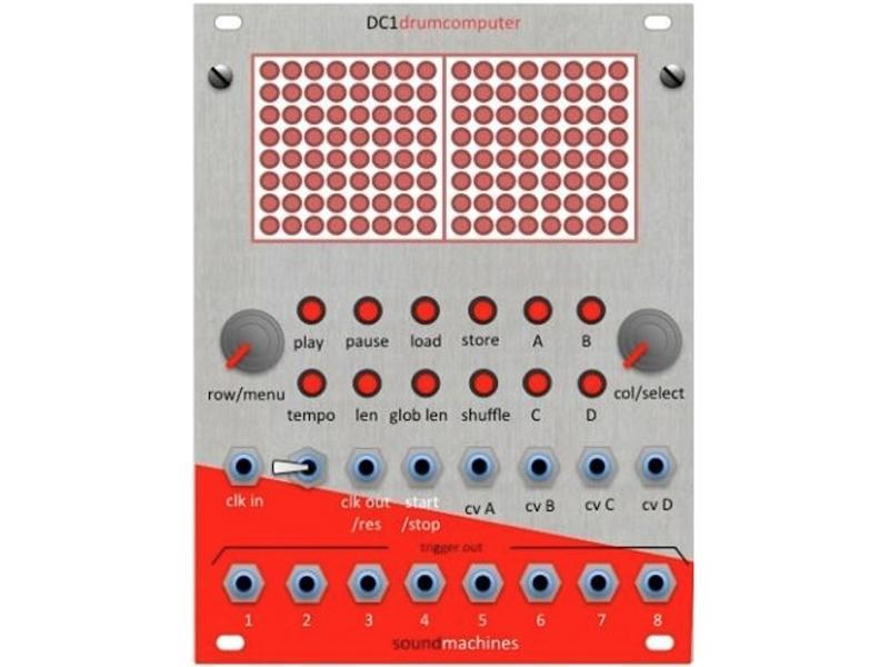 soundmachines DC1 drumcomputer