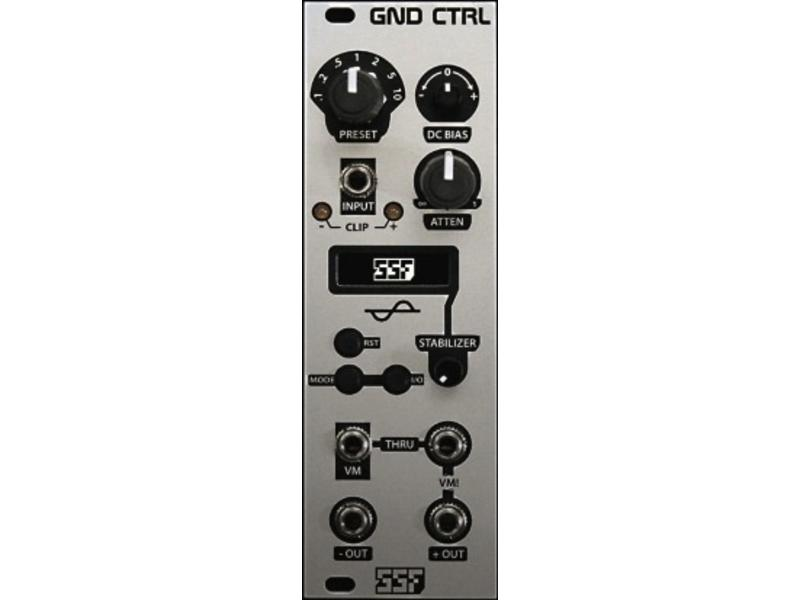 Steady State Fate GND CTRL