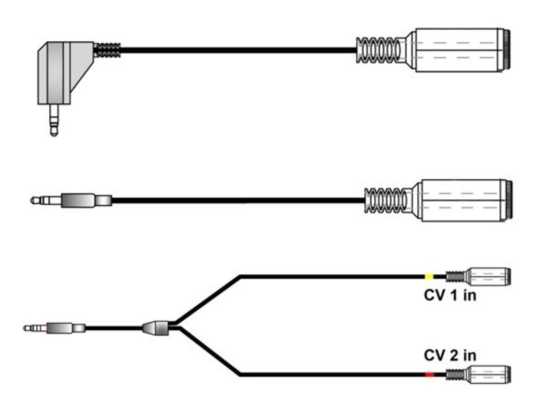 Keith McMillen Instruments CV Cable Kit (for QuNexus)