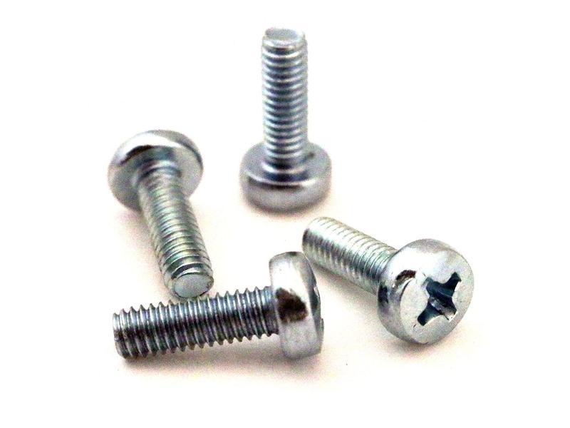 Screws, M4, 4pk