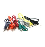 "Ad Infinitum 24"" Multicolor 3.5mm Patch Cables 5pk"