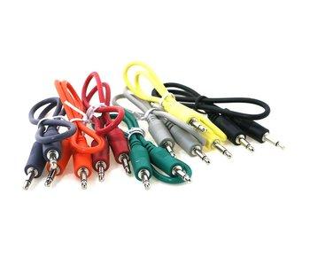 """Ad Infinitum 24"""" Multicolor 3.5mm Patch Cables 5pk"""