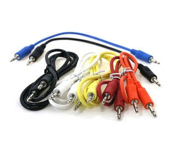 Ad Infinitum Multilength Multicolor 3.5mm Patch Cables 7pk