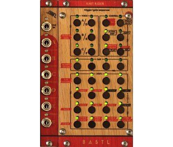 Bastl Instruments Knit Rider - Wood, BLOWOUT PRICING