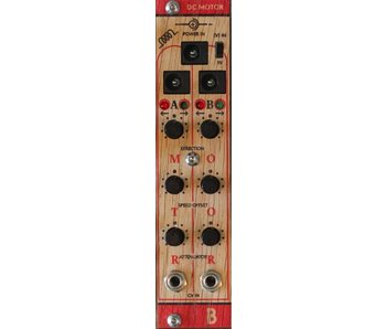 Bastl Instruments DC Motor Eurorack Interface - Wood, BLOWOUT PRICING