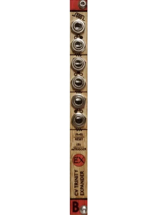 Bastl Instruments CV Trinity Expander - Wood, BLOWOUT PRICING