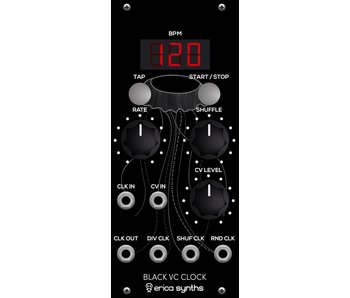 Erica Synths Black VC Clock
