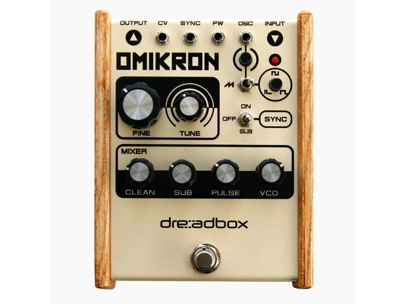 Dreadbox Omikron Pedal, DEMO UNIT