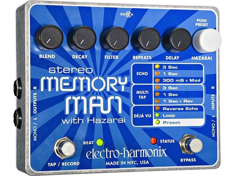 Electro Harmonix Stereo Memory Man w/ Hazari
