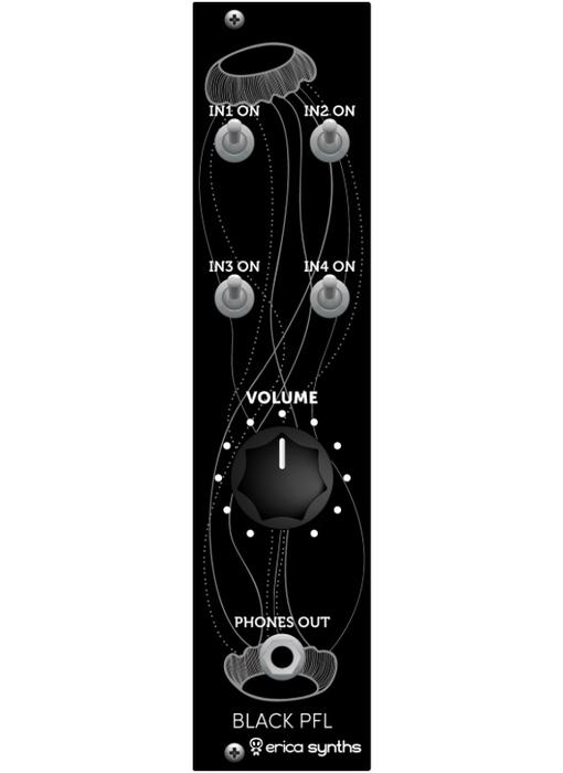 Erica Synths Black PFL (Pre Fade Listen), BLOWOUT PRICING