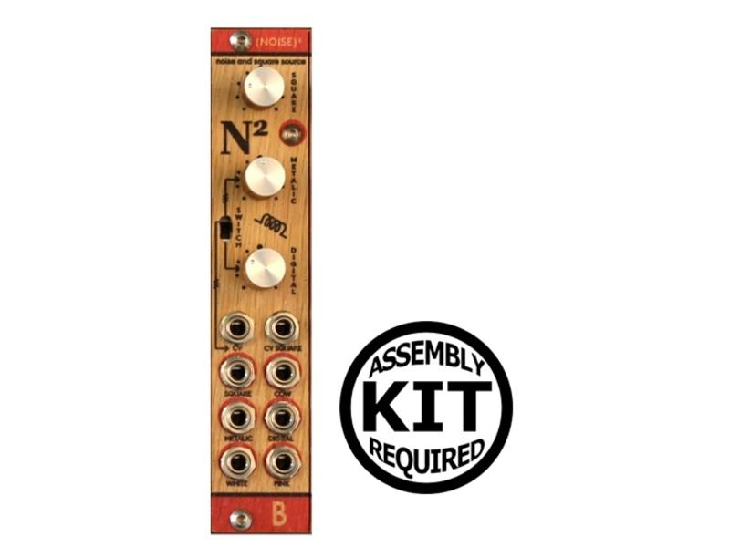 Bastl Instruments Noise Square - Wood, Kit, BLOWOUT PRICING